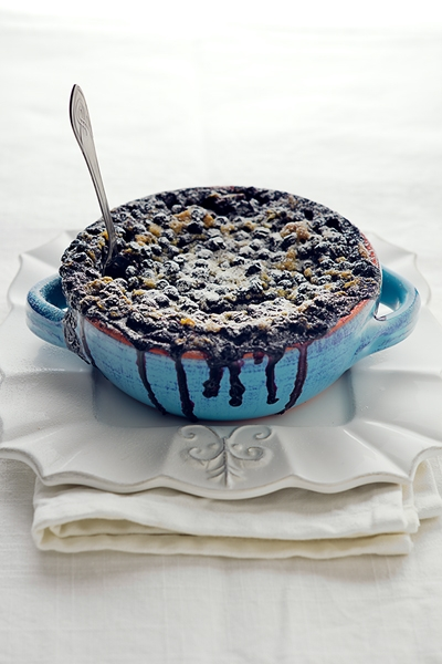 Blaubeerauflauf Pasticcio di Mirtilli Blueberry Pudding