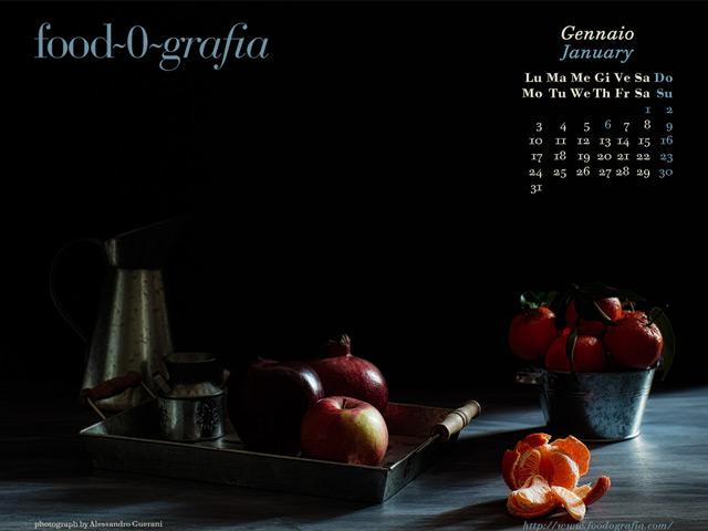 Gennaio 2011 Calendario Desktop