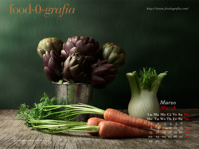 Calendario Desktop Gennaio 2010