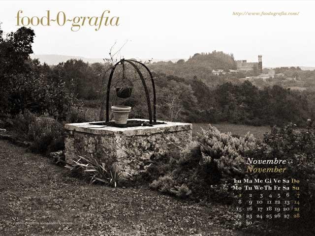 Novembre 2010 Calendario Desktop