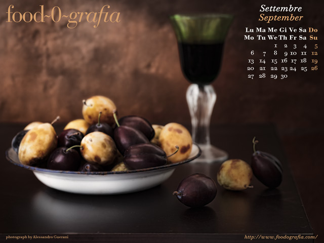 Settembre 2010 Calendario Desktop