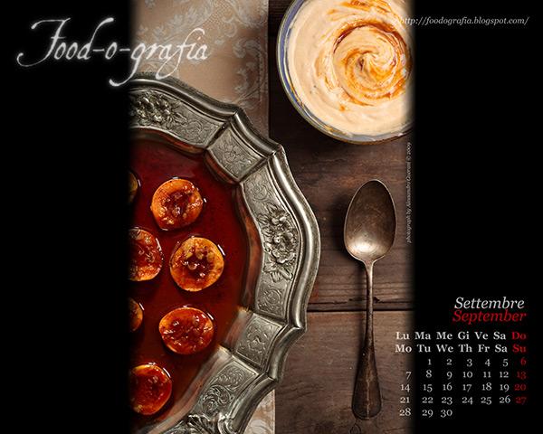 Calendario Desktop Settembre 2009 - September 2009 Desktop Calendar
