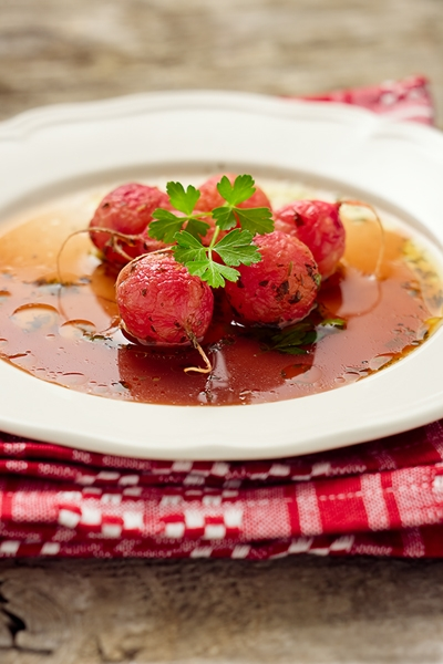 Ravanelli in Agrodolce - Sweet and Sour Radish