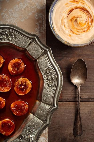 Albicocche Arrosto con Erbe di Provenza - Roast Apricots with Provençal Herbs