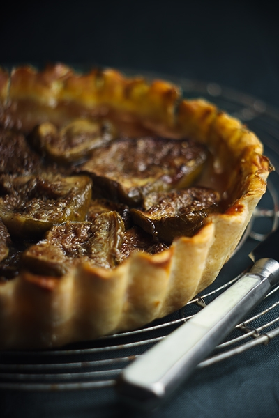 Tarte ai Fichi Caramellati - Tarte with Caramelized Figs